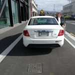 Guest Photo of the Day: Dodgy cycleway parking