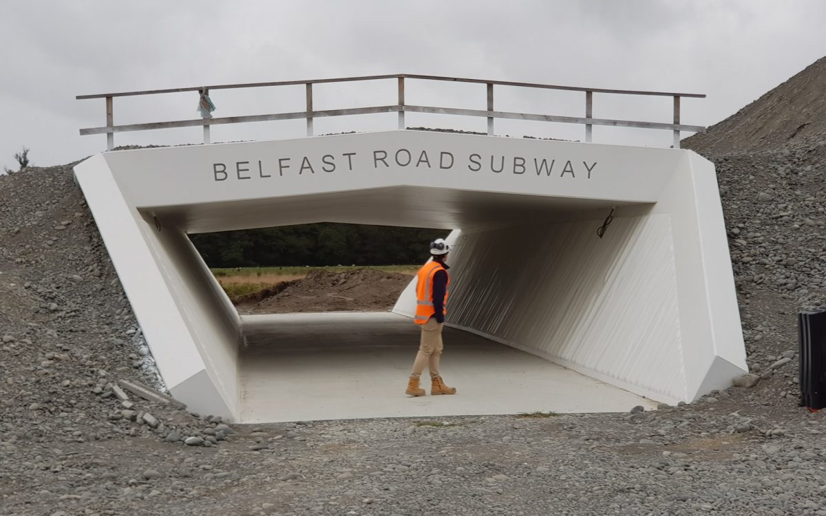 Photo of the Day: Belfast Rd Cycle Subway