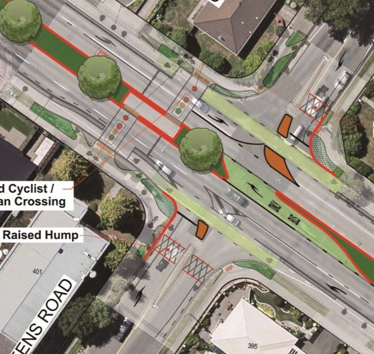 What to do about Harewood/Gardiners/Breens intersection?