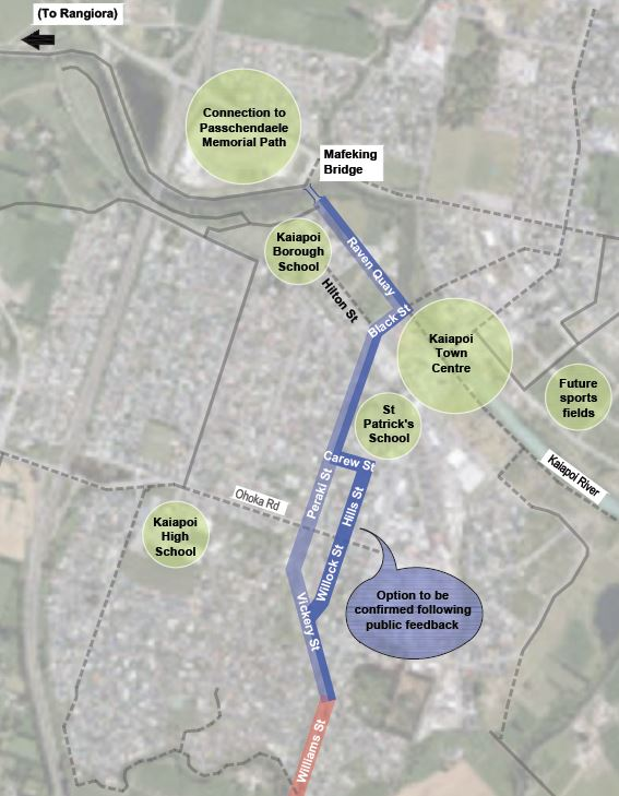 Have your Say: A new cycle connection to Waimak