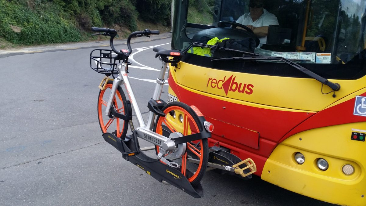 Bike Racks on Buses – a key for integrated transport