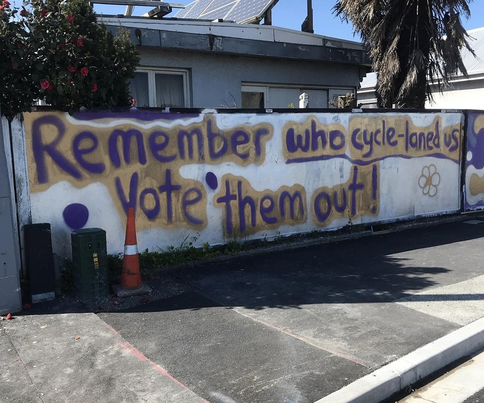 What the recent elections told us about support for cycling in Chch