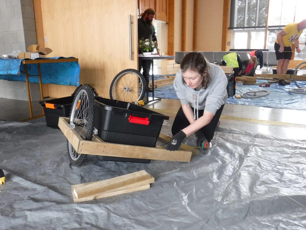 Make Your Own Bike Trailer Workshop 2019