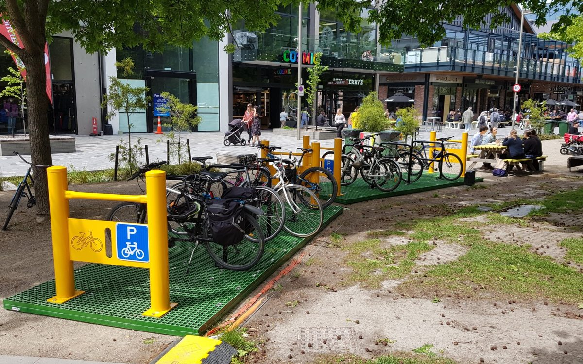 Photo of the Day: New Central City Bike Parking