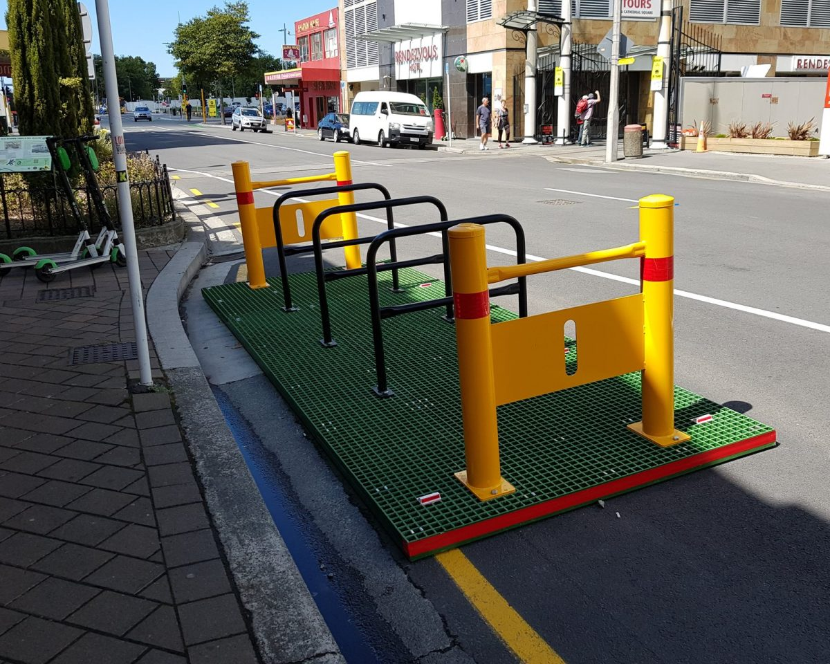 Where shall we put some more cycle parks?
