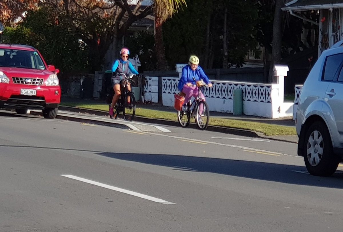Photo of the Day: Mothers' Day Biking