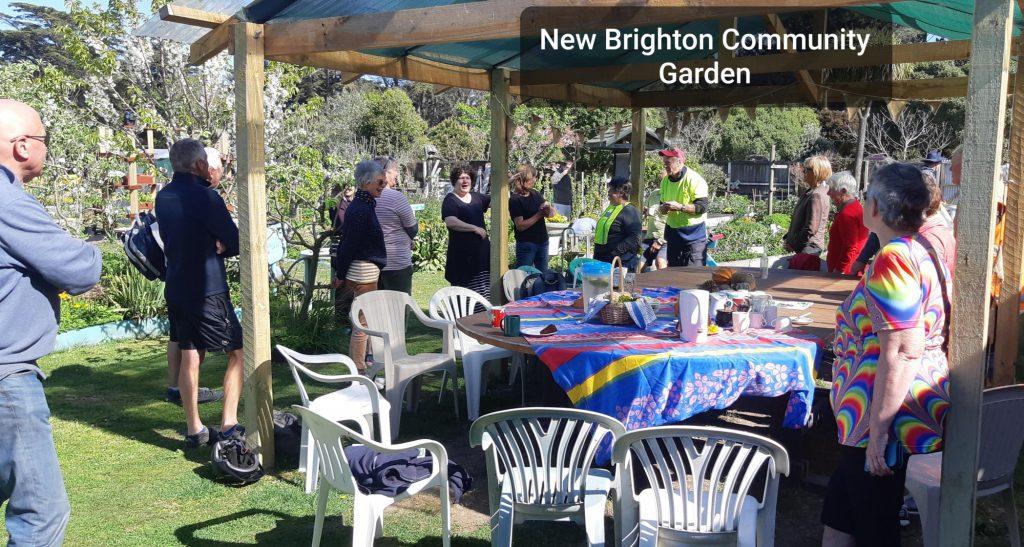 Wednesday Wheelies N.Brighton Community Garden