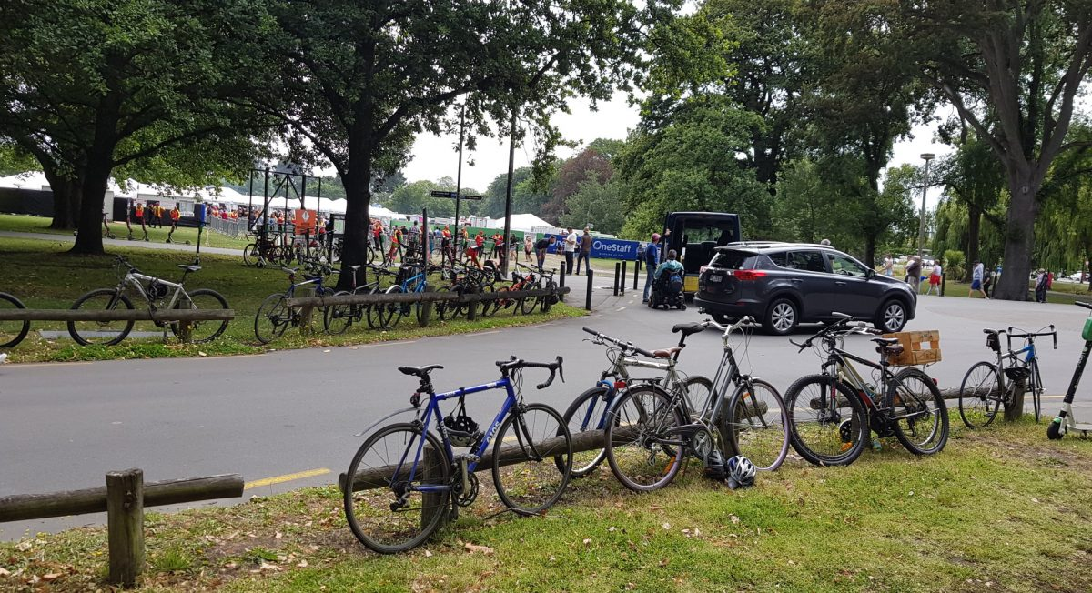 Bike Parking at Major Events