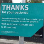 Cycleway Construction – Summer Progress