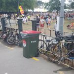 Flashback Friday: Cycling to Events