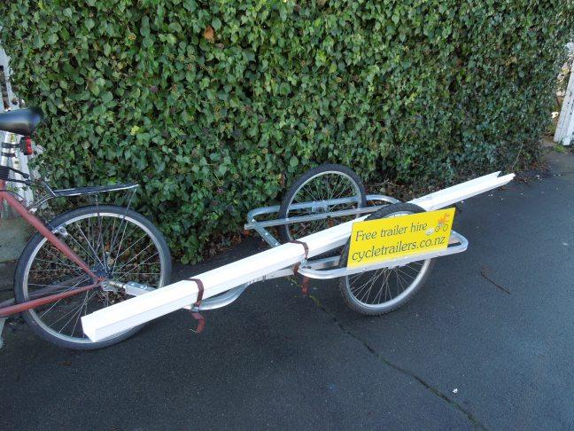 Spouting repairs by bike