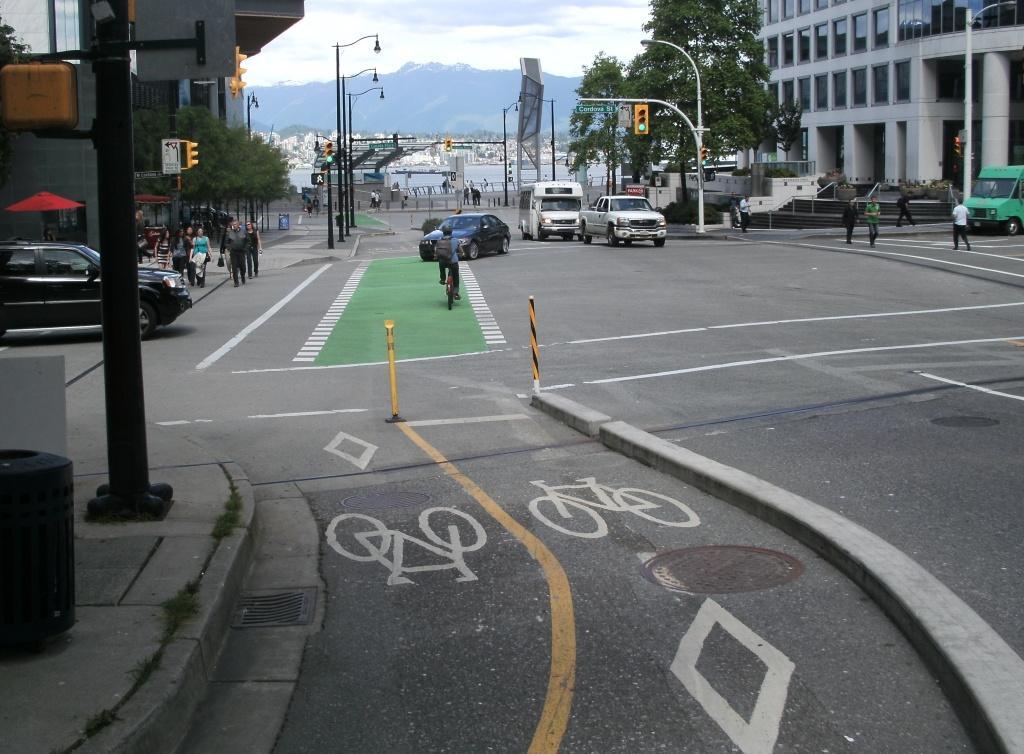 Flashback Friday: Vancouver Separated Bikeways