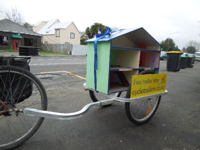 Moving house by bicycle