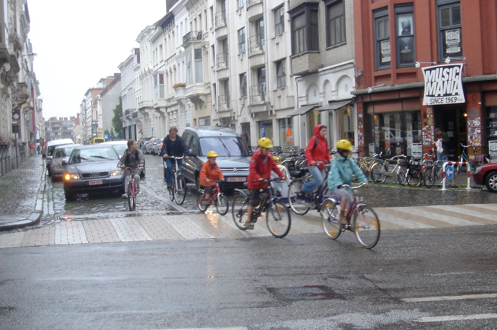 Cycling in the Wet