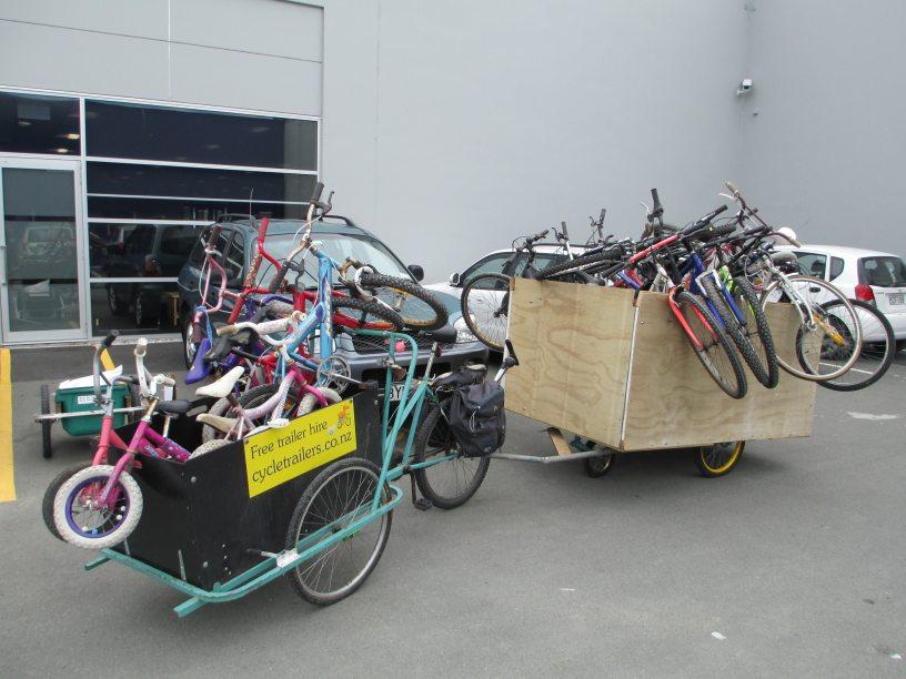 How many bikes can a bike rider take if a bike rider could take bikes?