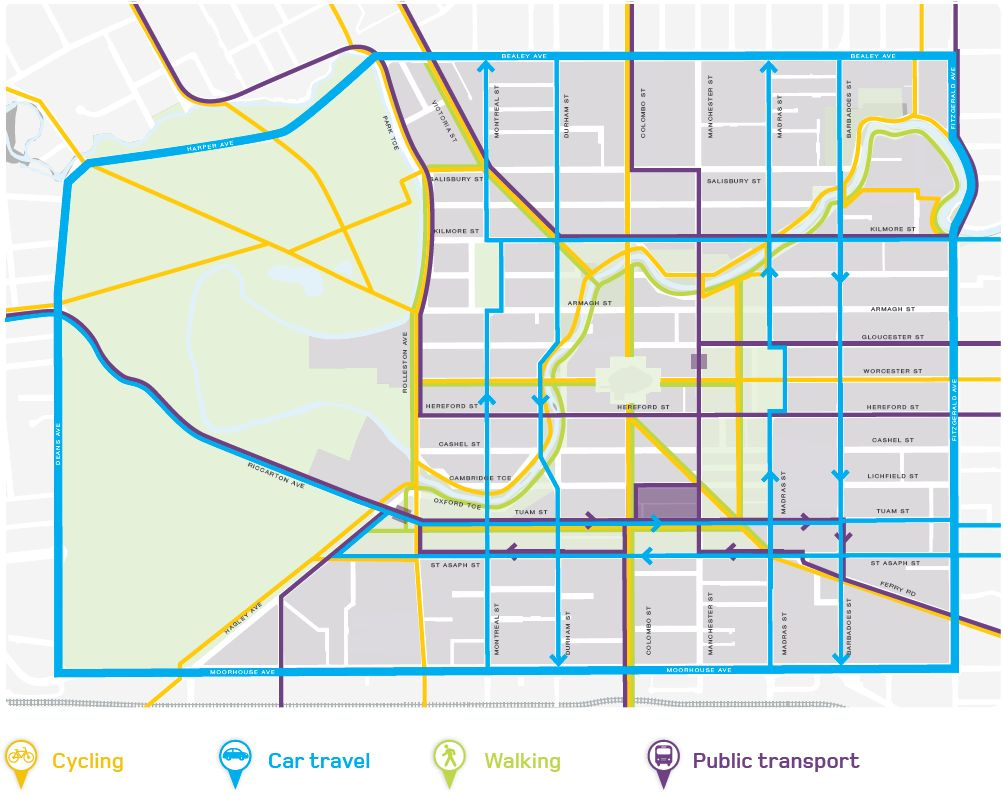 Will Christchurch be an Accessible City for Cycling?