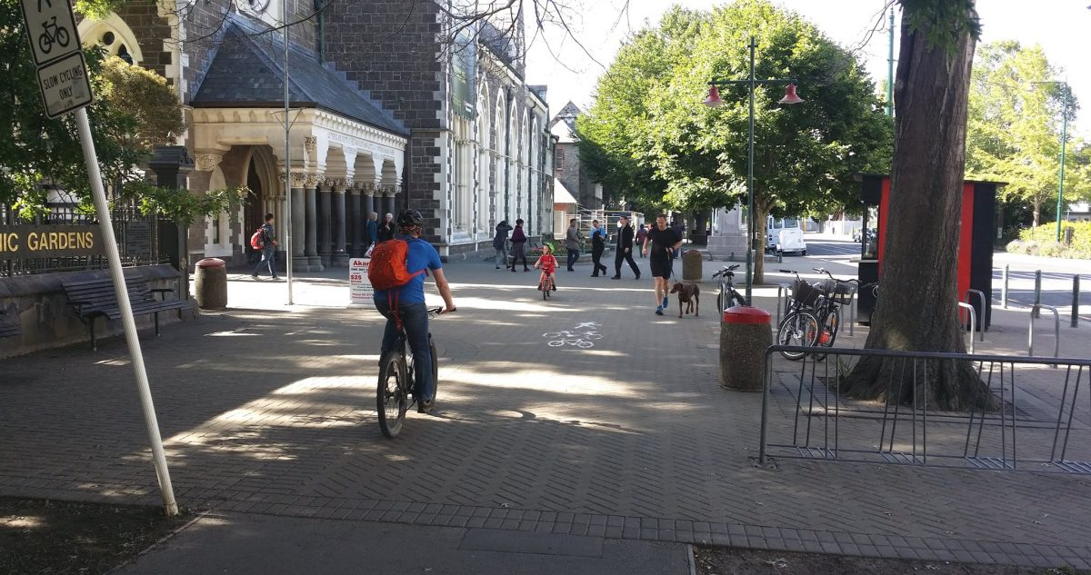 Photo of the Day: Rolleston Ave Shared Path