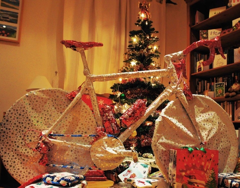 Flashback Friday: Cycling wishes for Christmas