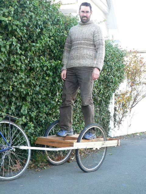 Make your own bike trailer workshop 6th Oct