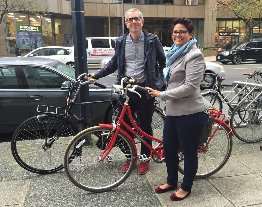 Come and hear the Bruntletts talk about a cycle-friendly city