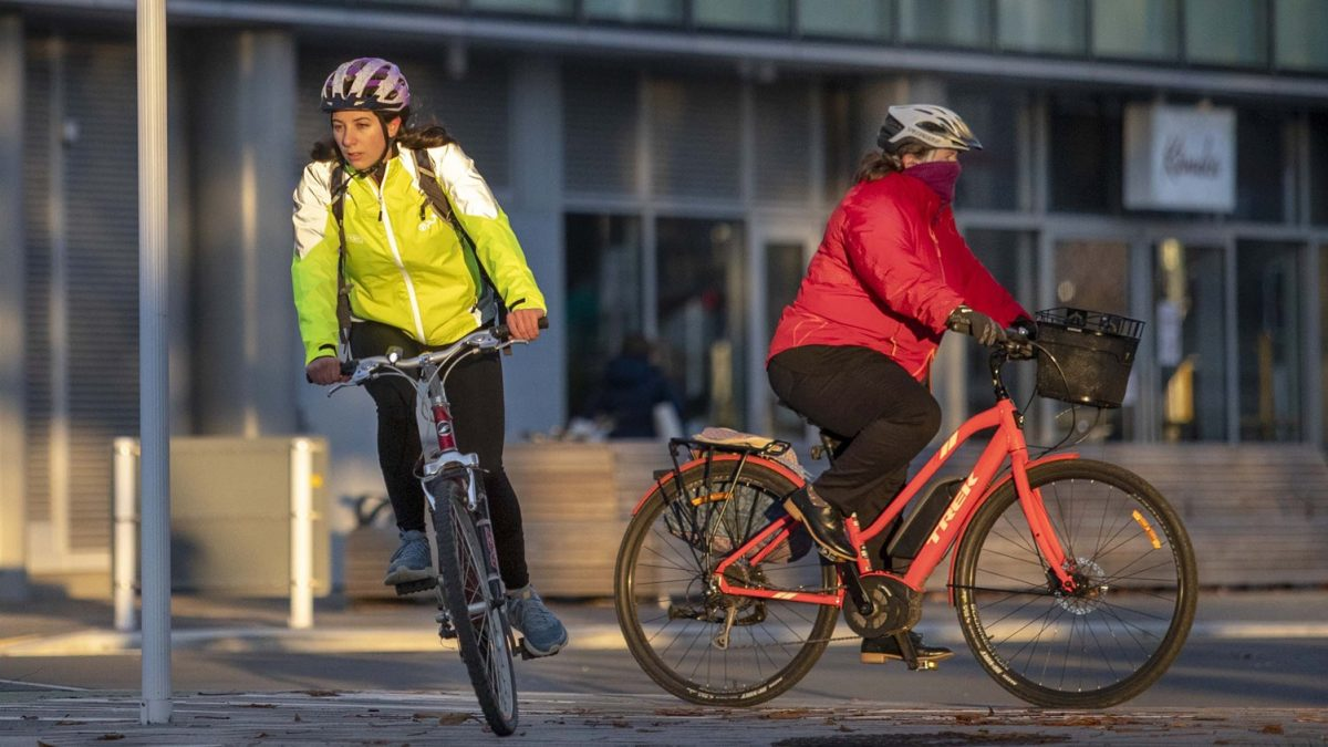Chch cycling continues to rise