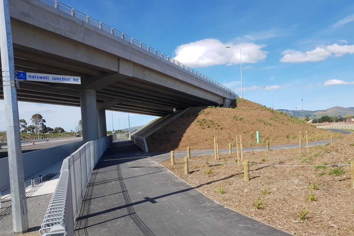First Look: Little River motorway link path