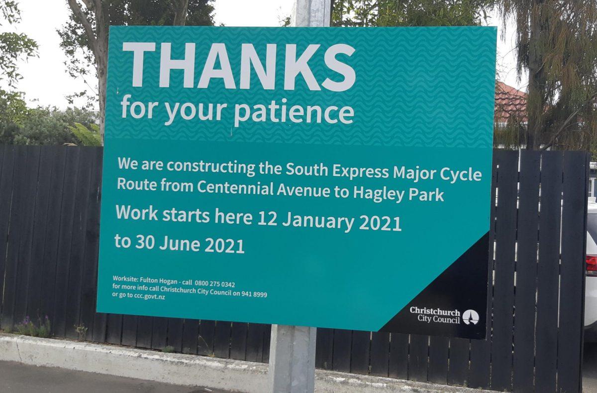 Cycleway Construction – Summer Progress